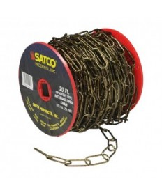 Satco 79/206 Satco 79-206 Spanish Type Antique Brass Finish 11 Gauge Chain