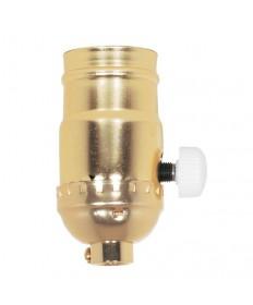 Satco 80/1014 Satco 80-1014 150W Max 120V Full Range Dimmer Socket w/Ivory Knob