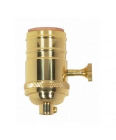 Satco 80/1430 Satco 80-1430 250W-250V 3 Terminal 2 Circuit w/Metal Turn Knob