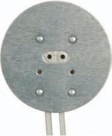 Satco 80/1668 Satco Round Halogen Socket 8‑Inch Leads