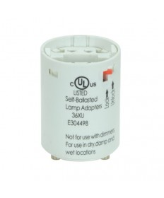 Satco 80/1712 Satco 18 Watt Electronic Self-Ballasted CFL Socket Lampholder