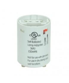 Satco 80/1712 Satco 18 Watt Electronic Self-Ballasted CFL Socket Lampholder