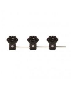 Satco 80/1912 Satco 3 Light Phenolic Threaded Candelabra Harness Sets