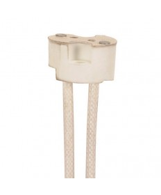 """Satco 80/2049 Halogen G4 Socket Round Porcelain with 12"""" inch Leads"""