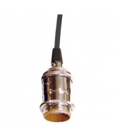 Satco 80/2283 80-2282 Satco Polished Nickel Medium base lampholder