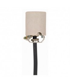Satco 90/1564 Satco 90-1564 660W-250V Porcelain Medium Base Socket Black Cord Set