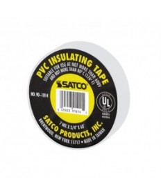 Satco 90/1814 Satco White PVC Insulating Tape