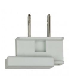 Satco 90/2605 Satco White Slide Plug Polarized