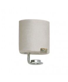 Satco 90/419 Medium Base Porcelain Socket with Hickey 660W-250V