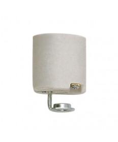 Satco 90/419 Keyless Porcelain Socket Medium Base with 1/8 IPS Hickey