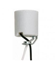 Satco 90/466 Satco Keyless Porcelain Socket with Hickey