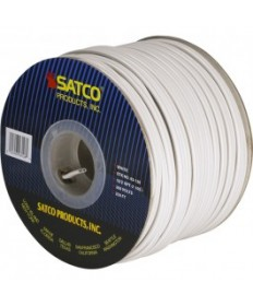 Satco 93/126 Satco 93-126 18/2 SPT-2 105C 250FT White Spool Wire