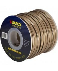 Satco 93/140 Satco 93-140 18/2 SPT-1 105C 250FT Metallic Gold Spool Wire