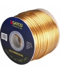 Satco 93/165 Satco 93-165 16/2 SPT-2 105C 250FT Clear Gold Spool