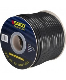 Satco 93/166 Satco 93-166 16/2 SPT-2 105C 250FT Black Spool