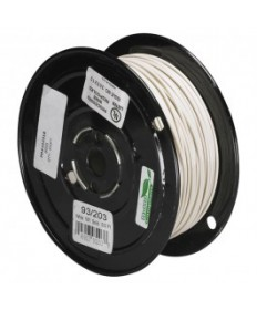 Satco 93/203 Satco 93-203 Nylon White Wire 500FT Spool Wire