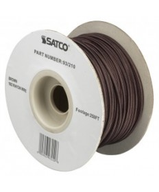 Satco 93/210 Satco 93-210 Brown 18/2 Rayon Wire 250FT Spool Wire
