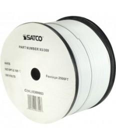 Satco 93/309 Satco 93-309 White 2500FT 18/2 SPT-2 105C Wire Reel