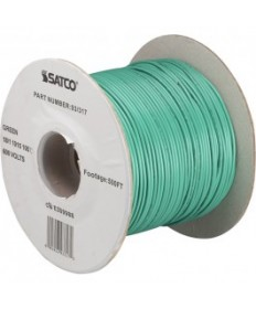 Satco 93/317 Satco 93-317 18/1 AWM 105C UL 1015 Wire Green 500FT Lighting Spool Wire