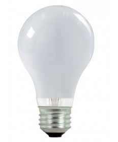 Satco S2406 Satco Light Bulbs 43A19/HAL/ES/SW/120V 2PK - 43 Watt Halogen - A19 - 120 Volt - E26 Medium Base - Soft White - Light Bulb