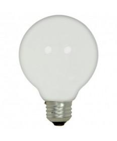 Satco S2438 43G25/WH/120V Satco 43-Watt G25 120-Volt White