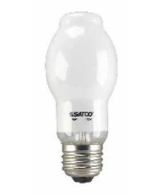 Satco S2455 72BT15/WH/120V/E26 CARD Satco 100-Watt BT15 White