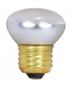 Satco S3602 Satco 40R14 40 Watt 120 Volt R14 Short Neck Medium Base Reflector Incandescent Light Bulb