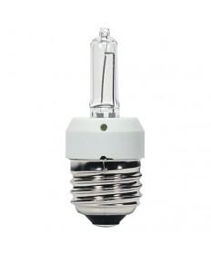 Satco S4308 KX20CL/3M/E26 Satco 20 Watt Halogen T3 Clear Medium base 120 Volts 3000 Average rated Hours 200 Lumens Xenon Specialty Light Bulb