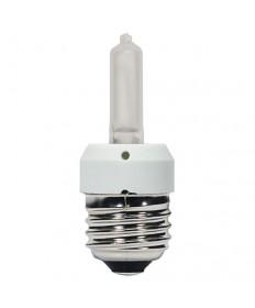 Satco S4311 KX40FR/3M/E26 Satco 40 Watt 120 Volt T3 E26 Medium Base Frosted Krypton Xenon 3000 Hour Halogen Light Bulb