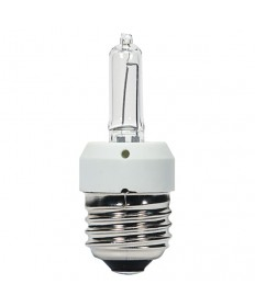 Satco S4312 Satco KX60CL/3M/E26 60 Watt 120 Volt T3 E26 Medium Base Clear Krypton Xenon 3000 Hour Halogen Light Bulb