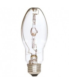 Satco S4850 Satco MP100/U/UVS/PS 100 Watt E26 Medium Base Plus Open Fixture Metal Halide Light Bulb