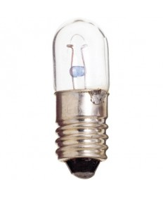 Satco S6908 Satco .15 Amp 6.3 Volt T3.25 Miniature Screw Base Miniature Light Bulb #40