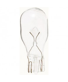 Satco S6940 Satco .69 Amp 13 Volt T5 Mini Wedge Base Miniature Light Bulb #906