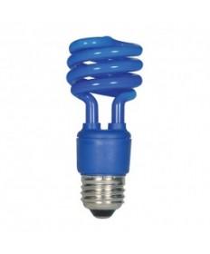 Satco S7273 Satco 13-Watt CFL Blue