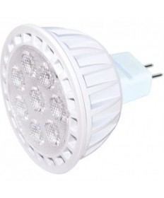 KolourOne Satco S9105 7MR16/LED/40/4K/12V/DIM Satco 7-Watt LED MR16 4000K