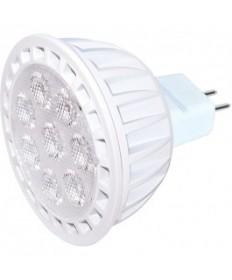 KolourOne Satco S9105 7MR16/LED/40/4K/12V/DIM Satco 7-Watt LED MR16 4000K