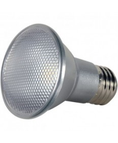 Satco S9401 7PAR20/LED/25/3000K/120V/SP Satco 7-Watt PAR20 LED 3000K Soft White 50-Watt Equivalent 25 Degrees Spot E26 120-Volt 7W 120V LED Light Bulb