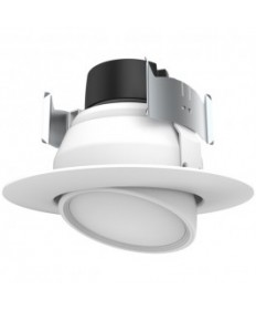 Satco S9468 9WLED/DIR/4/90/40K/120V Satco 9-Watt LED Directional Retrofit Downlight 4000K