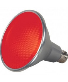 Satco S9480 15PAR38/LED/40/RED/120V/FL Satco 15-Watt PAR38 LED Red 40 Degrees