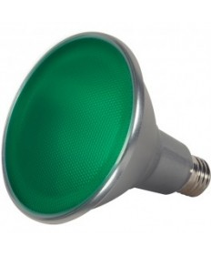 Satco S9481 15PAR38/LED/40/GREEN/120V/FL Satco 15-Watt PAR38 LED Green 40 Degrees