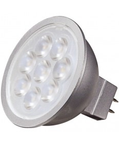 Satco S9496 6.5 Watt MR16 LED Bulb 3000K 40' Deg GU5.3 12 Volt
