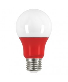 Satco S9642 2A19/LED/RED/120V Satco 2 Watt A19 LED Red