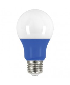 Satco S9644 2A19/LED/BLUE/120V Satco 2 Watt A19 LED Blue