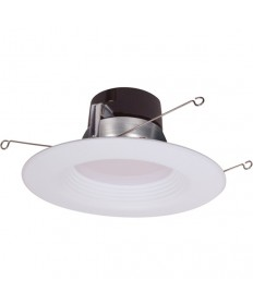Satco S9724 11.5WLED/RDL/5-6/27K/120V Satco 11.5-Watt LED Downlight Retrofit 2700K