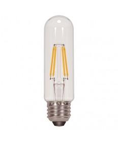 Satco S9892 4.5T10/LED/E26/30K/120V 4.5 Watt T10 LED Clear 120-Volt