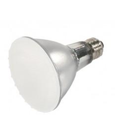 Satco S4103 Satco 50PAR30/LN/FL/FROST 50 Watt 120 Volt PAR30 Medium Base Long Neck Frosted Flood Halogen Lamp - DISCONTINUED