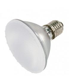 Satco S4101 Satco 50PAR30/FL/FROST 50 Watt 120 Volt PAR30 Medium Base Short Neck Frost 38 Degree Soft Ray Flood Halogen Light Bulb