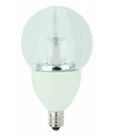 TCP LED4E12G1627K TCP 4-Watt G16 120-Volt Clear