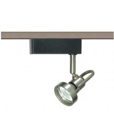 Nuvo Lighting TH328 - Brushed Nickel - Cast Ring - Track Lighting Head