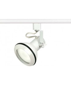 Nuvo Lighting TH332 Track Lighting White Euro Style Head, PAR30 Halogen Track Lighting, 120V Line Voltage Track Lighting